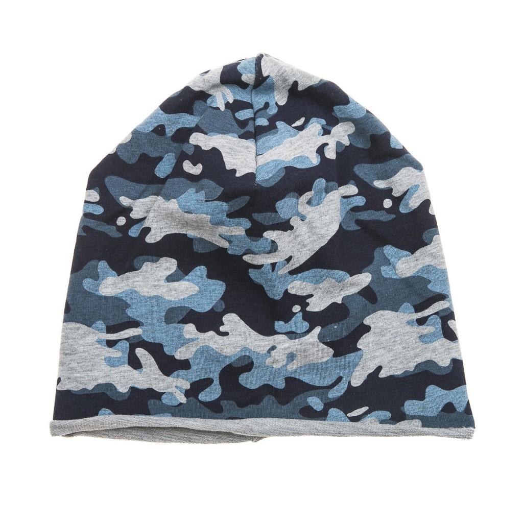 шапка хлопок камуфляж