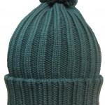 шапка с выборкой отворот пом пон