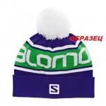шапка лыжная с логотипом