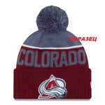 шапка с отворотом с логотипом