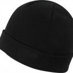 шапка ластик простой двойной отворот классик